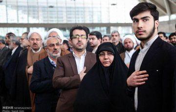 حضور در مجمع ملی جبهه مردمی انقلاب